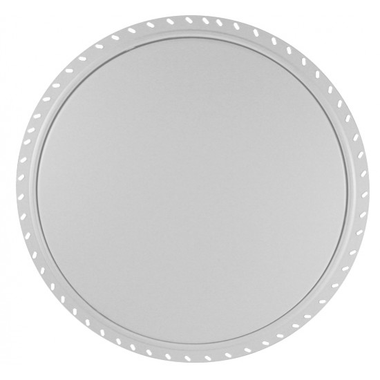 Zintec Steel Circular Access Panels Beaded Frame - 450x450mm - Single Panel