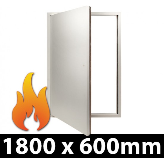 Fire Rated Riser Door Access Panel - Picture Frame