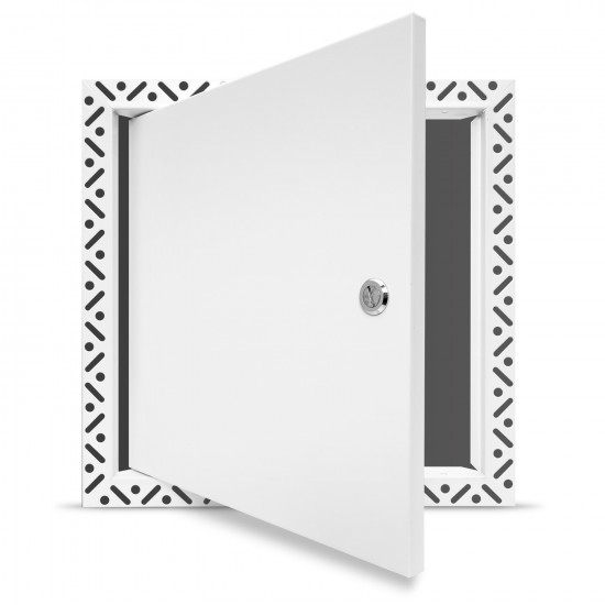 Value Metal Access Panel  - Slotted Lock - Beaded Frame