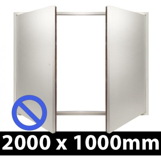 Non Fire Rated Riser Door Access Panel - Beaded Frame - ALLOW 7-10 DAYS