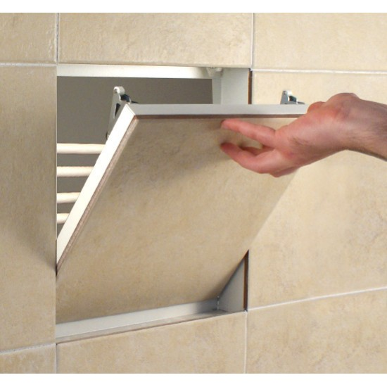 Tile Access Panel - Non Fire-Rated Metal Access Panel - 300x300mm